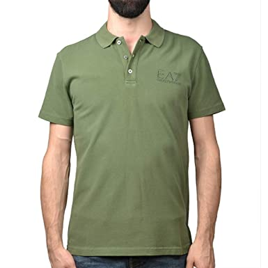 Emporio Armani Polo EA7, Color Kaki, Talla XXL: Amazon.es: Ropa y ...