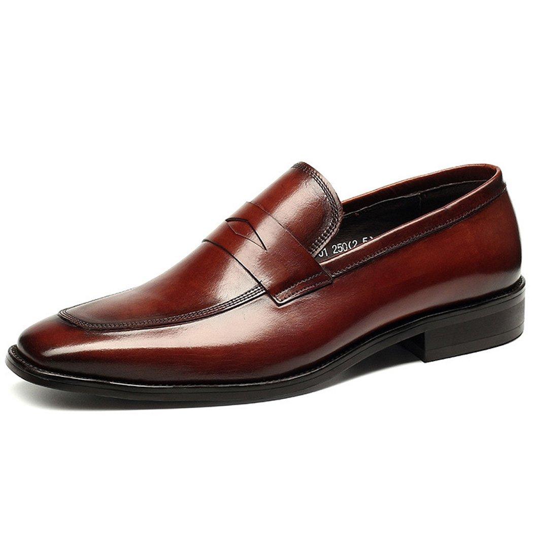 Zapatos de Hombre Primavera Verano Zapatos Formales Oxfords Negro Rojo 41 EU|Rojo