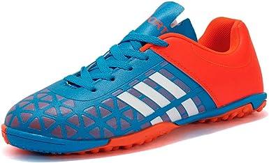 Donbest Botas de F/útbol para Hombre Spike Zapatos de f/útbol Profesionales Aire Libre Calzado de F/útbol Atletismo Zapatillas de F/útbol