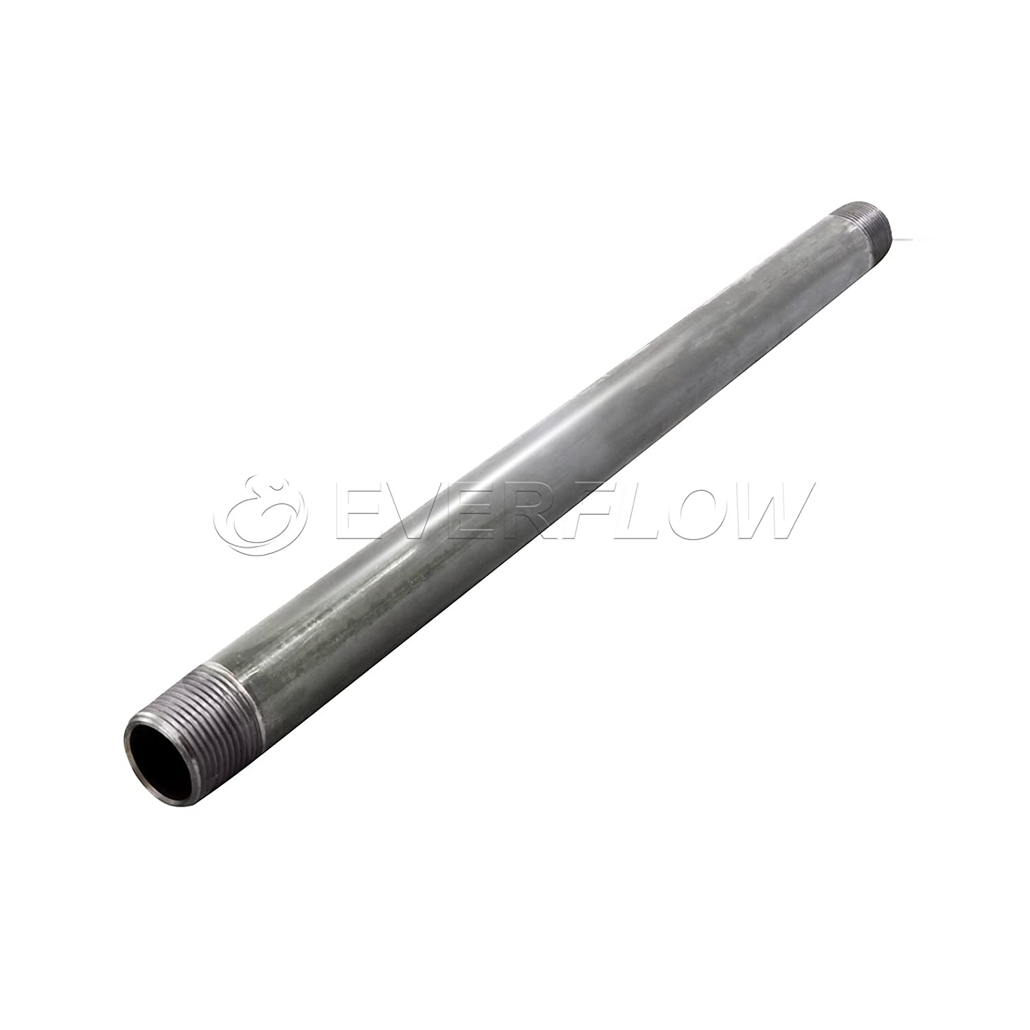 Everflow Supplies PCGL1548 48 Long Pre-Cut Galvanized Pipe with 1-1//2 Nominal Size Diameter