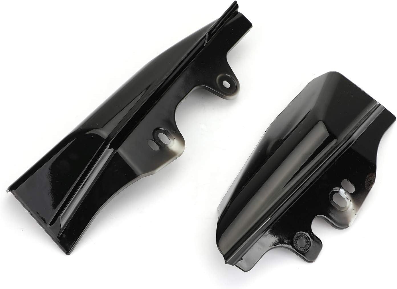 Artudatech Deflector de calor de aire para motocicleta Deflector de calor de aire para motocicleta Harley Touring modelos 2001-2008