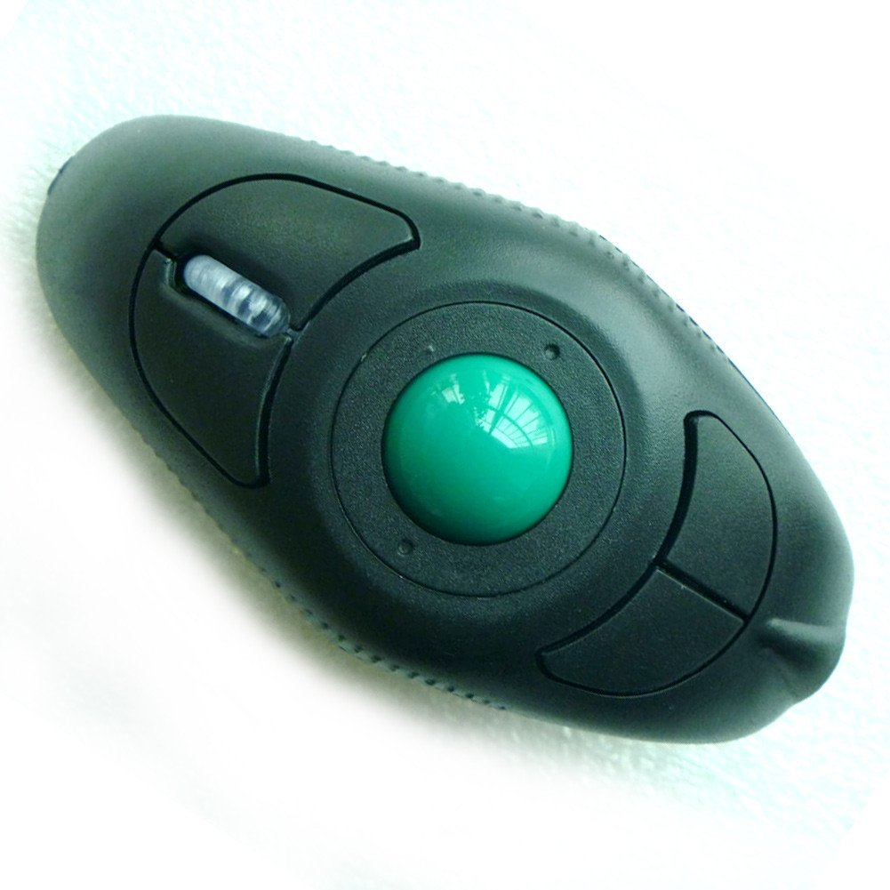 Buyee® Wireless Handheld Trackball Mouse For Laptop Desktop PC w ...