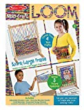 Melissa & Doug Wooden Multi-Craft Weaving Loom: Extra-Large Frame (22.75 x 16.5 inches)