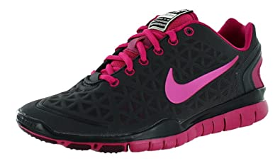 New Nike Free TR Fit 2 AnthraciteBerry Ladies, Black 6.5