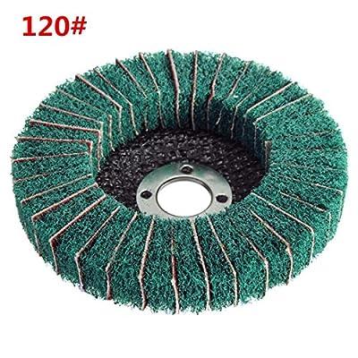 100mm 120 Grit Nylon Fiber Wheel Abrasive Polishing Buffing Disc