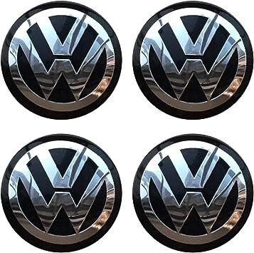 1x 56MM Car Wheel Center Hub Cap Emblem Badge Decal Sticker for VW Volkswagen
