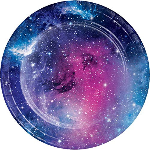 Galaxy Party Dessert Plates, 24 ct -