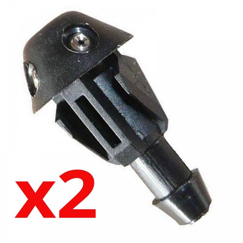 Autoparts - 2X Boquilla Spray limpiaparabrisas 7700823915