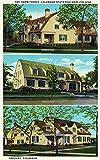 Greeley, Colorado - Belford, Decker, Gordon Halls View; CO State Teachers College (12x18 Art Print, Wall Decor Travel Poster)