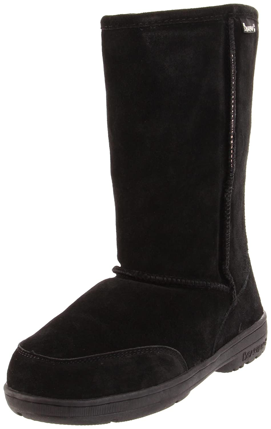 BEARPAW Women's Meadow Mid Calf Boot B01N5QXWQN 41 M EU|Black