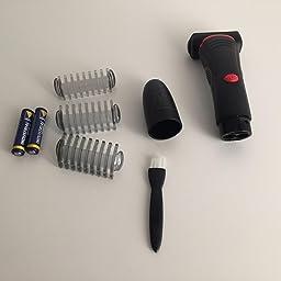 Remington Flex BHT100 – Afeitadora Corporal, Cuchillas de Acero Inoxidable, con Pilas, Uso Seco y Mojado, Negro: Amazon.es: Salud y cuidado personal