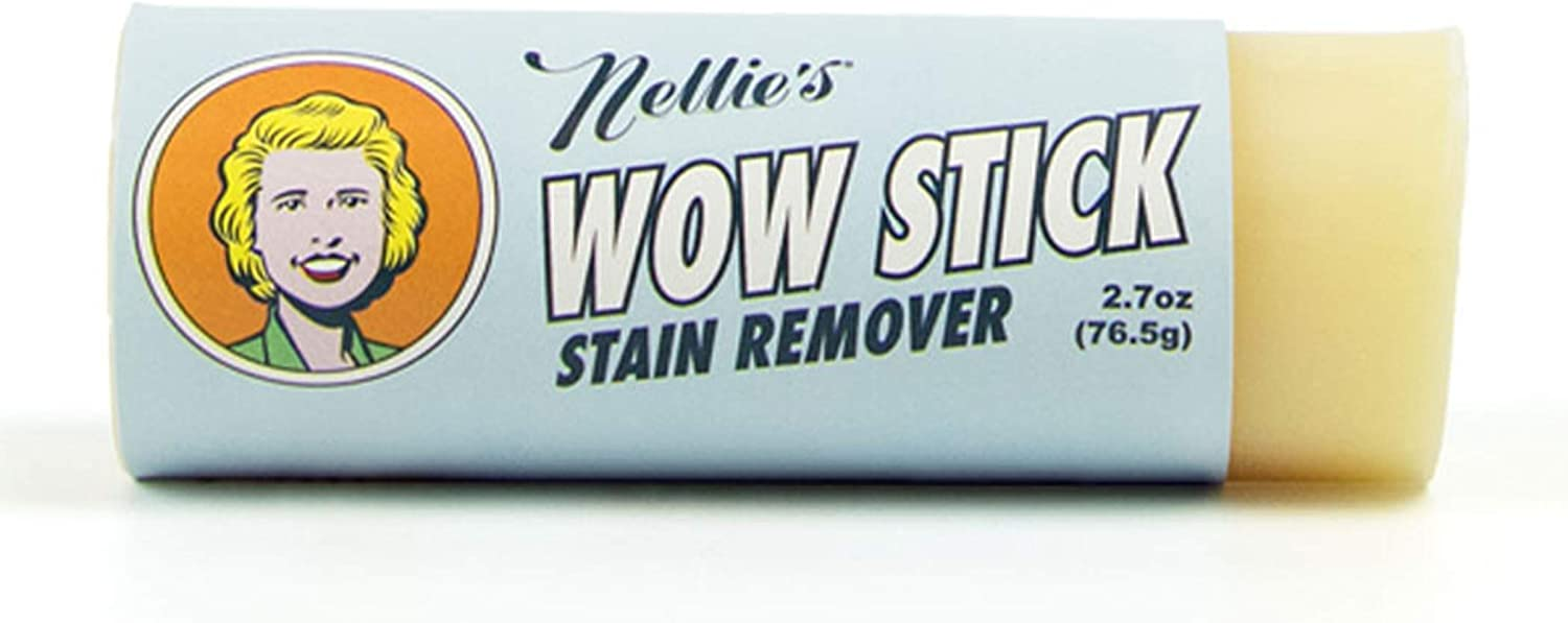 Nellie's Wow Stick, Stain Remover, 2.7 oz