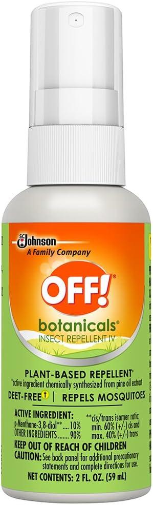 OFF! Botanicals Insect Repellent Iv, 2 Fl Oz (1 Ct)
