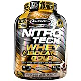 MuscleTech Nitro-Tech Whey Plus Isolate Gold, Cookies and Cream, 4 Pound