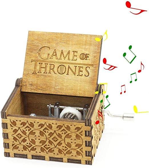Mano Pura Juego de Tronos clásico Caja de música Mano Caja de ...