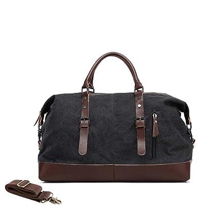 Amazon.com  MEWAY Travel Overnight Bag Canvas Duffle Bag Oversized Luggage  Bag Large Handbag for Men Women  Sports   Outdoors bd4e44911a8d0