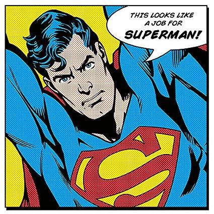 """Dc Comics Batman 60 X 80cm /""""comic Montage/"""" Canvas Print"""