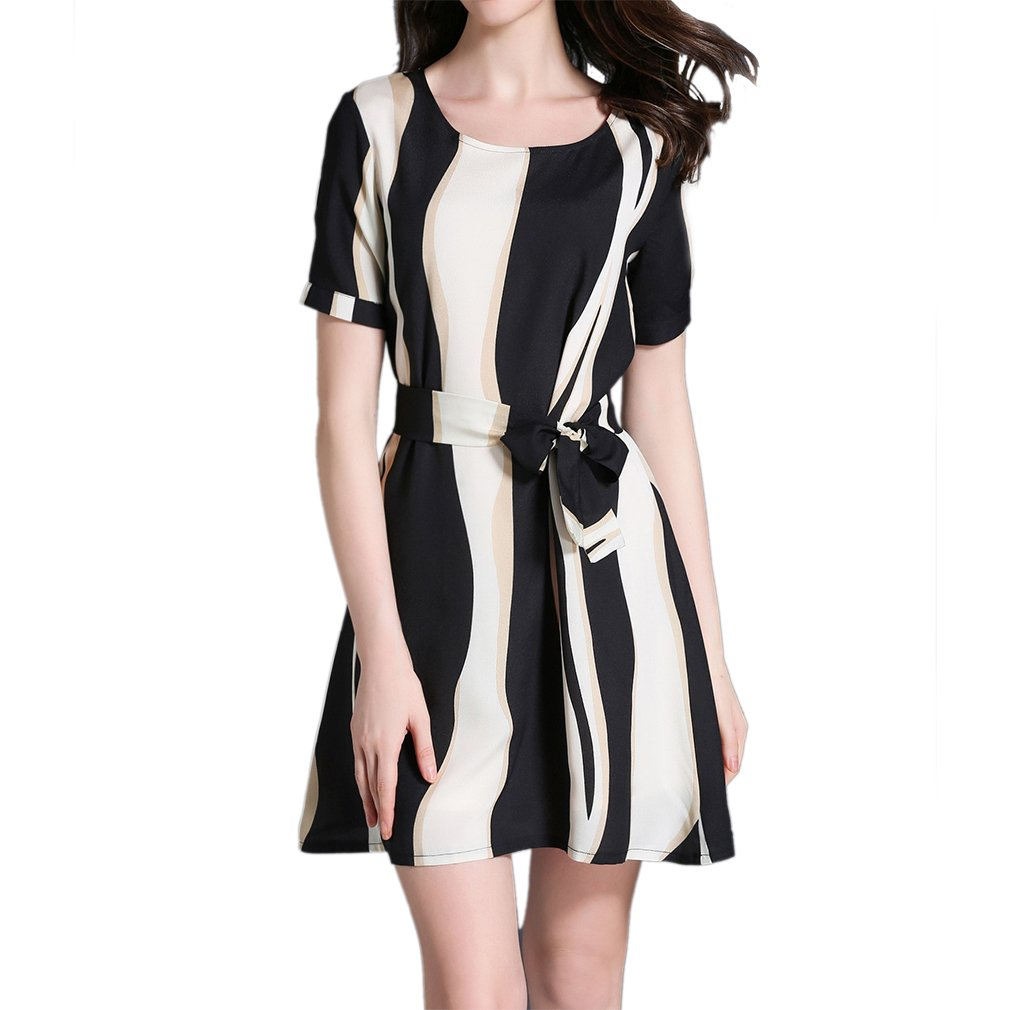 c683f162c3a5 Formal Business Dress With Short Sleeves - raveitsafe
