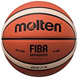 Molten Composite Basketball, Orange/Tan, Official Size 7