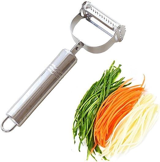 Julienne and vegetable peeler