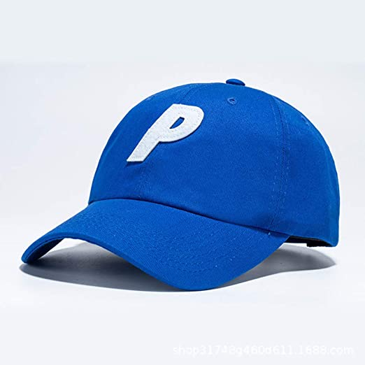 sdssup Punto Gorra de béisbol Letra P Bordado Salvaje sombrilla ...