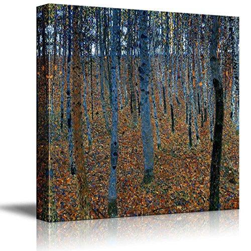 Beech Grove by Gustav Klimt Austrian Symbolist Painter
