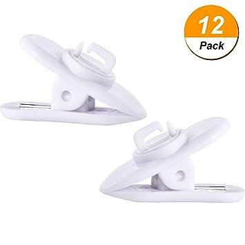 12 Stück Klammer für Kopfhörer Draht 360: Amazon.de: Elektronik