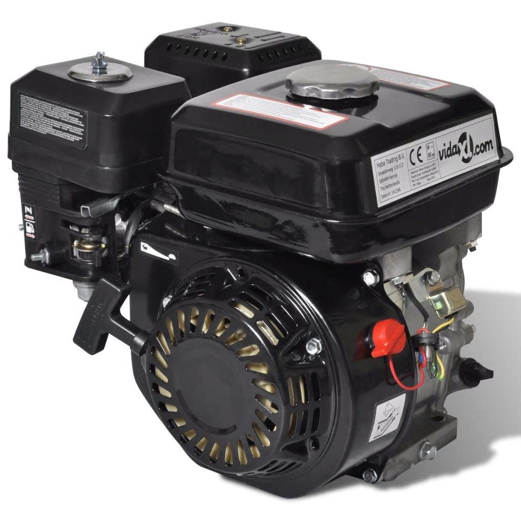taofuzhuang 6,5 HP 4,8 kW Motor de Gasolina, NegroBricolaje ...