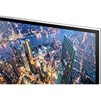 Samsung LU28E590DS/ZA 28 UHD LED-Lit Monitor (3840x2160) + Elite Suite 17 Standard Software Bundle (Corel WordPerfect, Winzip, PDF Fusion,X9) + 1 Year Extended Warranty