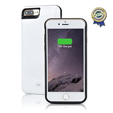 iPhone 7 Plus recargable caso kunter 7500 mAh batería ...