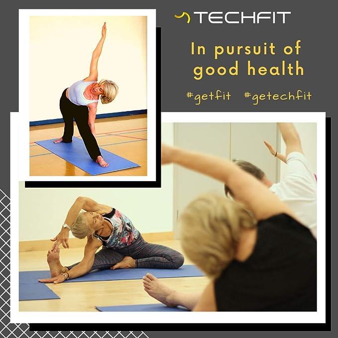 Brand New Rose Tapis De Yoga Stretch Gym Pilates Exercice Poids Léger Rembourré