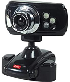 Amazon.in: Buy Enter E-60MP Web cam with Mic (Red) Online at Low ...