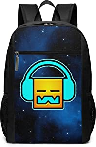 IIOOsdn Ge-om-etry Music Da-sh Laptop Backpack 17 Inch Travel BusinessBackpack School Bags Casual Daypack For Teens Adults