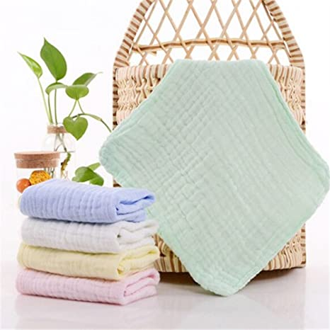 Moonli bebé guante de baño 100% natural algodón paños de toallitas/para bebé, ...