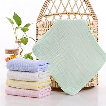 Moonli bebé guante de baño 100% natural algodón paños de toallitas/para bebé ,