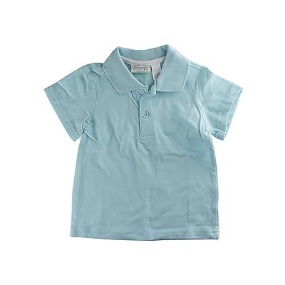 First Impressions Baby Boys Splashy (Light Blue) Basic Polo Shirt
