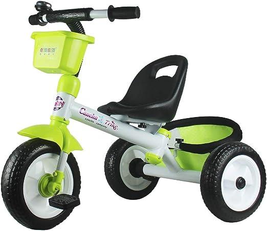 Fenfen Triciclo Ligero para niños Carruaje para bebés 2-6 años ...
