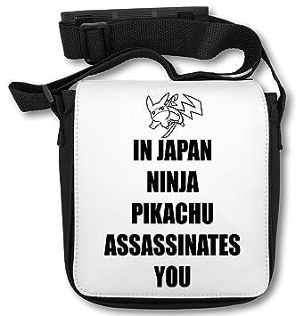 In Japan Ninja Assasinates You Picachu Logo Bolsa de Hombro ...