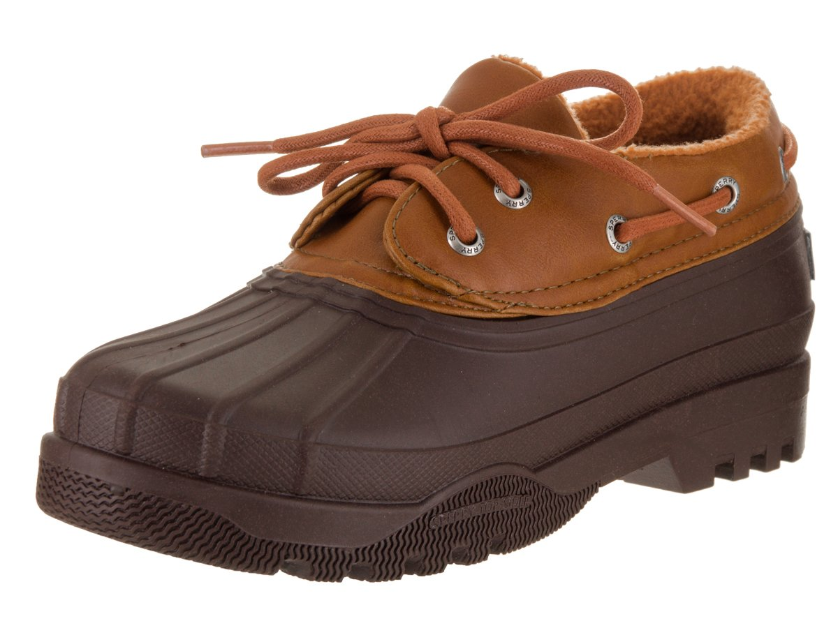 Women's Sperry, Heron Shoe Rain Shoe B01MDNWPWB 8 M|Brown Cognac