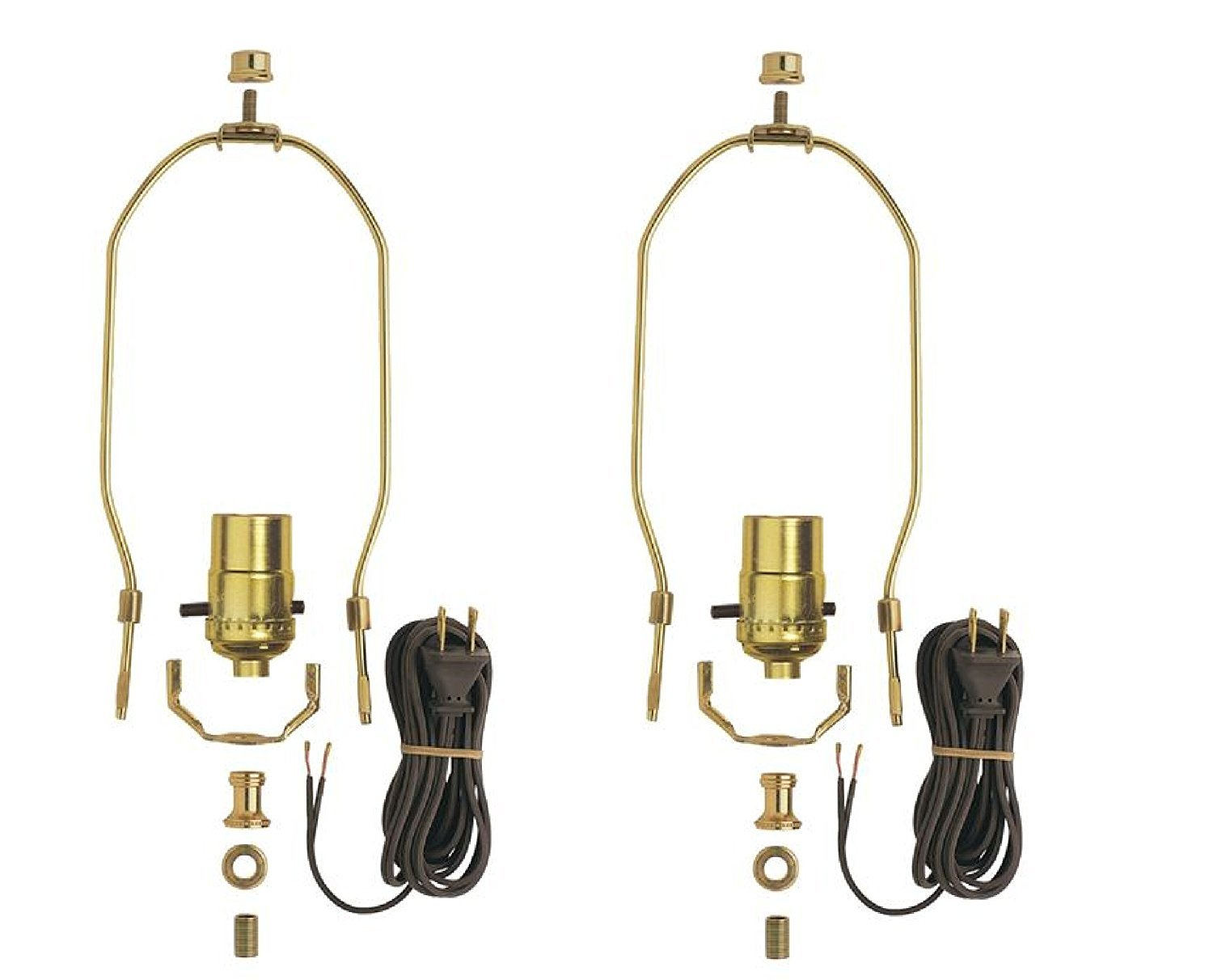 Westinghouse 70269 00 Angelo Brothers Make A Lamp Kit Finials Rewiring Two Socket