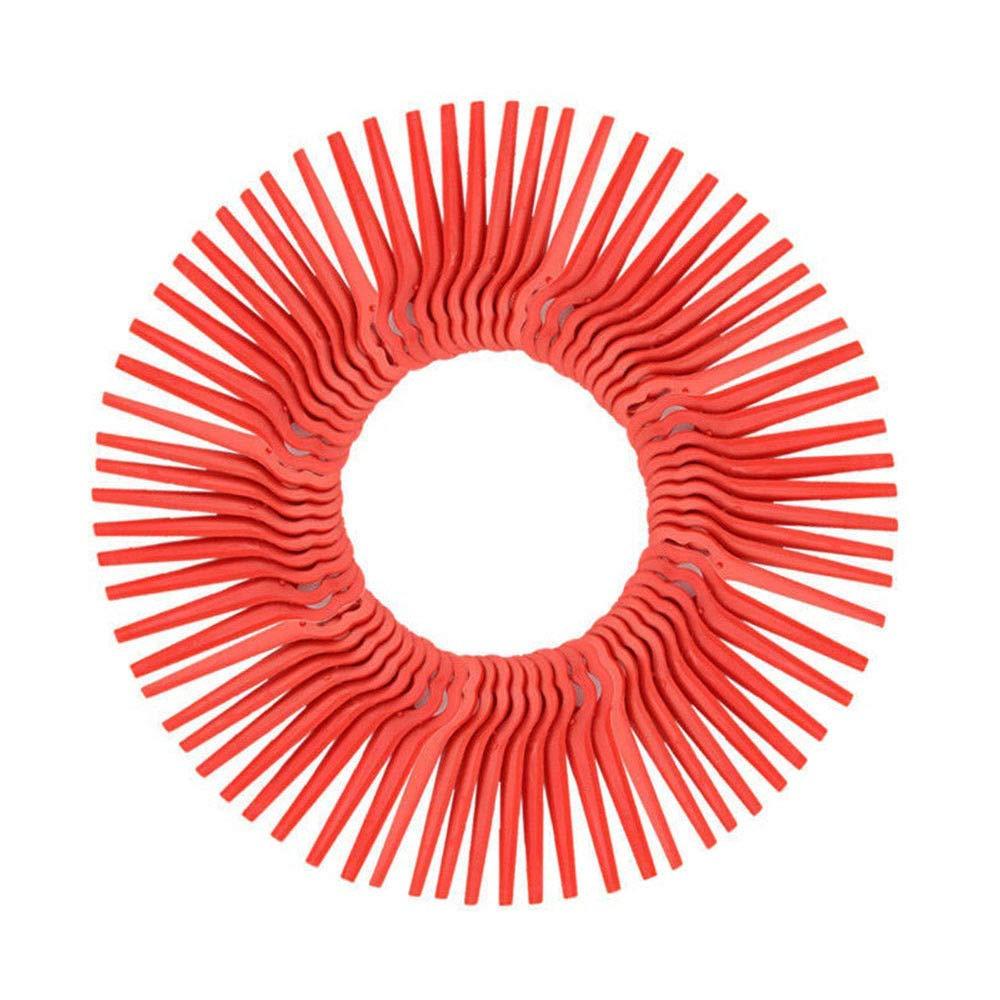 FidgetFidget - 100 Cuchillas de plástico para cortacésped ...