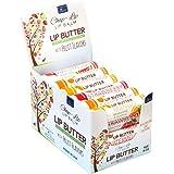 CHAP-LIP Lip Butter Lip Balm with Fruit Flavors, Cocoa Butter, Coconut Oil | Moisturizing Vitamin E & Total Hydration Treatme