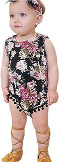 Mädchen Kleider Festlich, Weant Baby Kleidung Mädchen Mode Floral Drucken Sets + Haarband Prinzessin Kleider FüR Kinder Mädchen Kleidung Partykleid Chiffon Kleid Baby Tägliche Kleidung Pullover