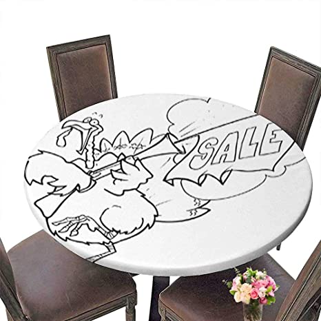 Amazon Com Polyester Round Table Cloth Turkey Sale Table Up To