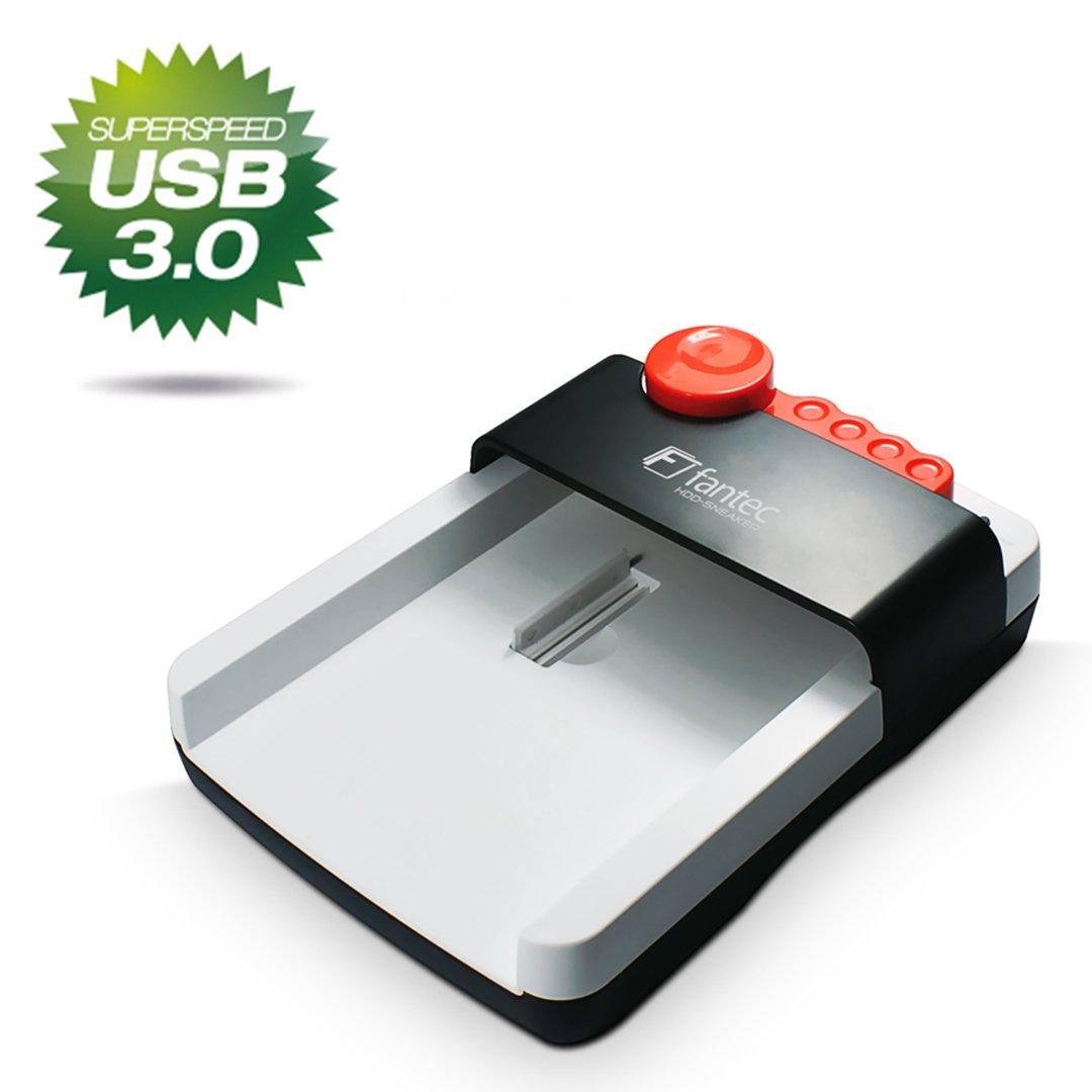 Fantec HDD-Sneaker - Base de conexión para discos duros de 6,35 cm (2,5