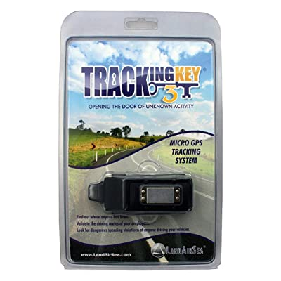 LandAirSea Tracking Key 3 - Passive GPS Tracker with No Monthly Fees, Magnetic and Discreet, Location Recording, Detailed Route History [5Bkhe1003544]