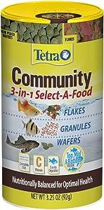 Tetra Community Select-A-Food (1 Can), 3.25 oz