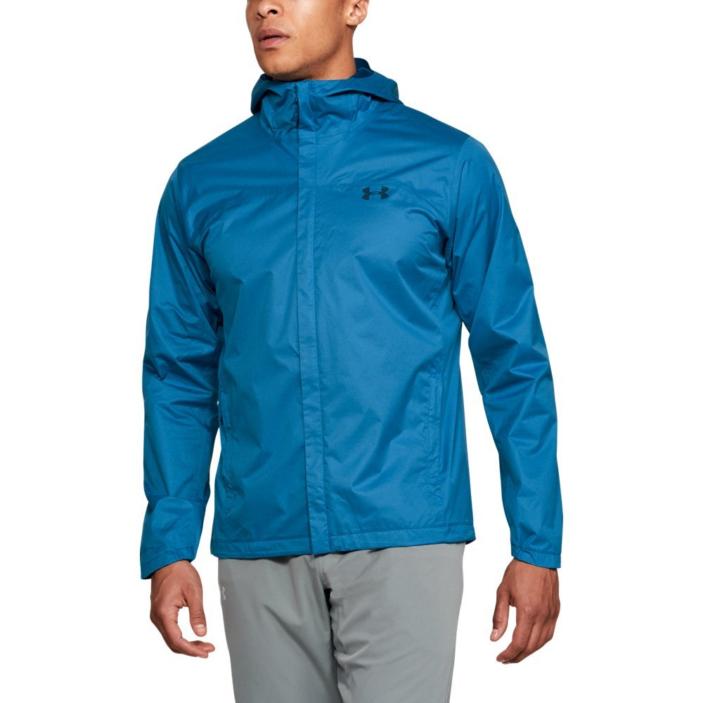 Under Armour Outerwear Men's UA Overlook Jacket, Cruise Blue (899)/Moroccan Blue, Small by Under Armour