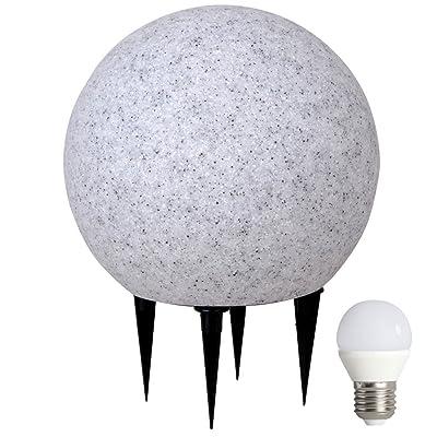 Boule Lampe Led Luminaire Jardin 6 5 Del Lumineuse Watts Extérieur OwXuTPkiZl