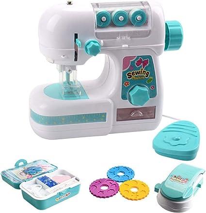 Zowam Mini máquinas de Coser, Juguetes educativos para niños y niñas, Ropa de Bricolaje: Amazon.es: Electrónica